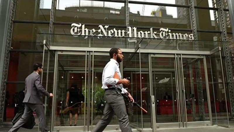 Днес New York Times днес изглежда страшно! Некролози и имена...