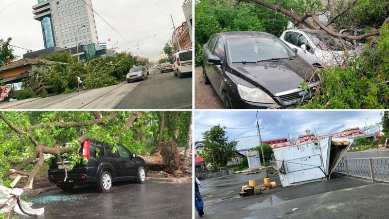 Унищожителен ураган в Русия! Четирима загинаха, над 100 000 останаха на тъмно
