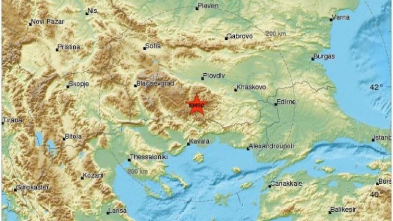Земетресение разтресе Смолян през нощта!