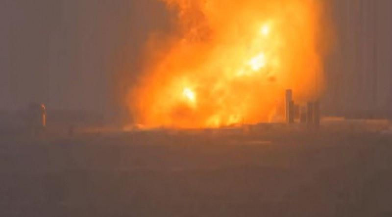 Експлодира тестова ракета на SpaceX