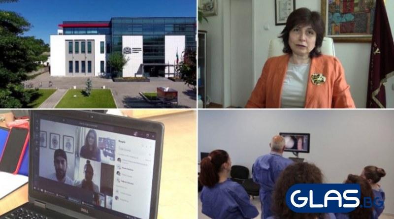 Как обучиха младите лекари по време на пандемия в Пловдив? ВИДЕО