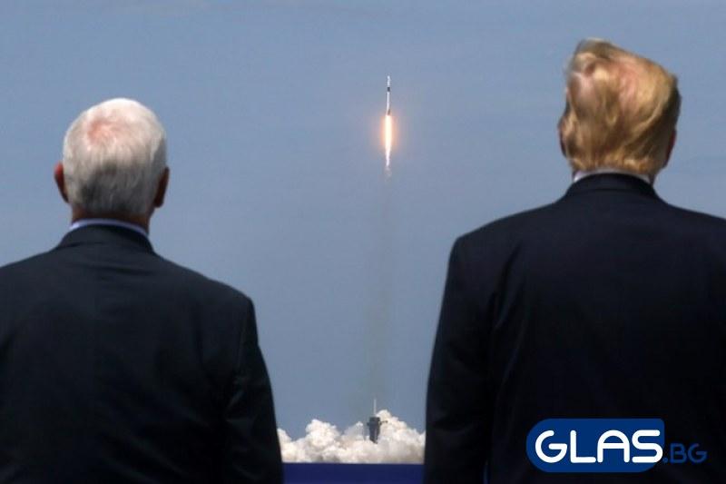 НА ЖИВО: Ракета пое от Земята към Космоса ВИДЕО