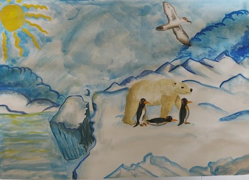 """Класираха участниците в конкурса за детска рисунка на тема """"Водата и изменението на климата"""