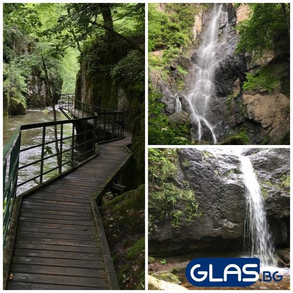 Дървени мостчета, водопади и уникална природа на час и половина от Пловдив