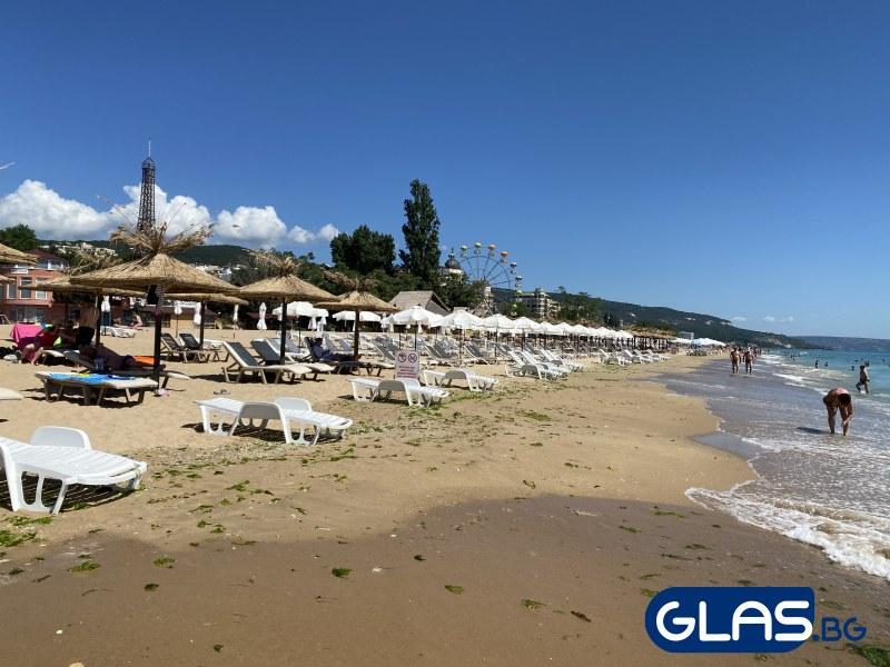Плажовете на Златни пясъци и съседните курорти в този час СНИМКИ