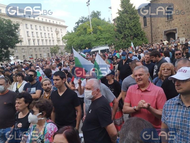 Четвърти ден протести: Ситуацията в този час СНИМКИ +ВИДЕО
