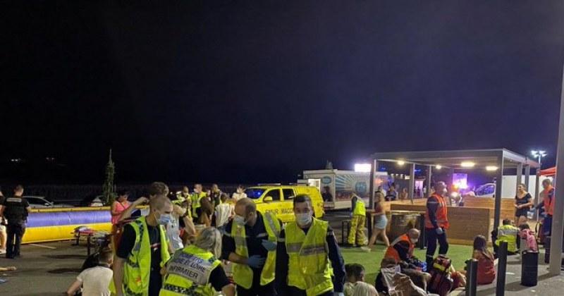 Кола се вряза в тълпа във Франция! 13 души са ранени