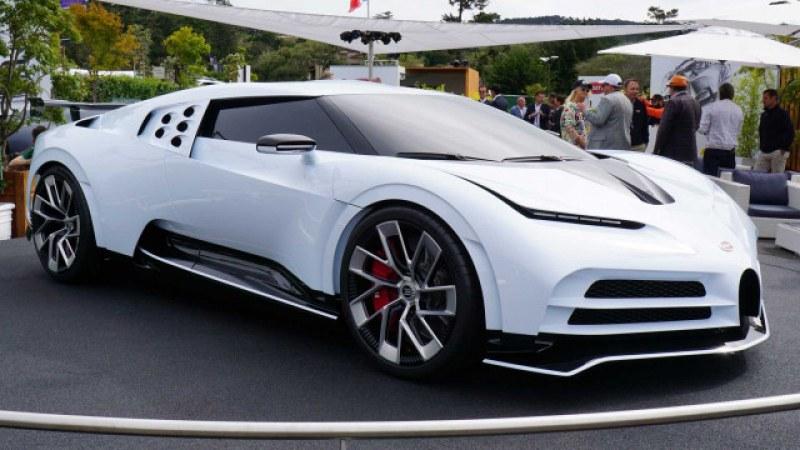 Да си подариш Bugatti за €8 млн. Богатият Роналдо си го позволи!
