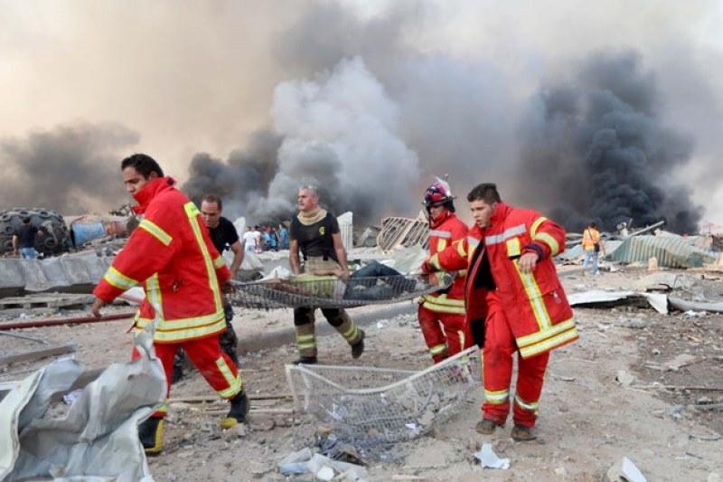 Ужасът в Бейрут: Най-малко 27 загинали и 2500 ранени  СНИМКИ