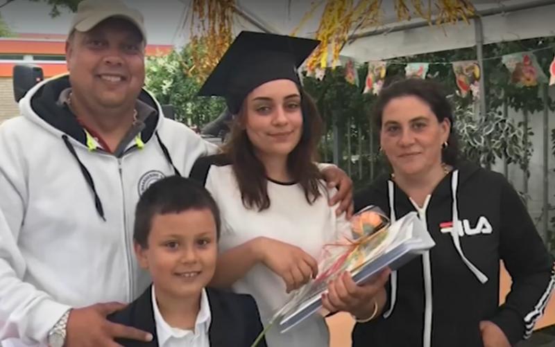 Българка от ромски произход – лице на нидерландска гимназия