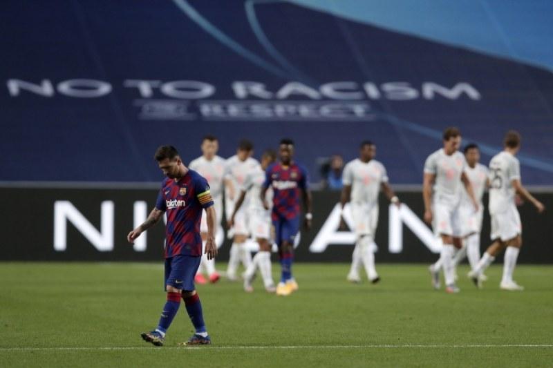 Невиждан срам за Барселона в евротурнирите, Байерн ги отнесе с 8:2
