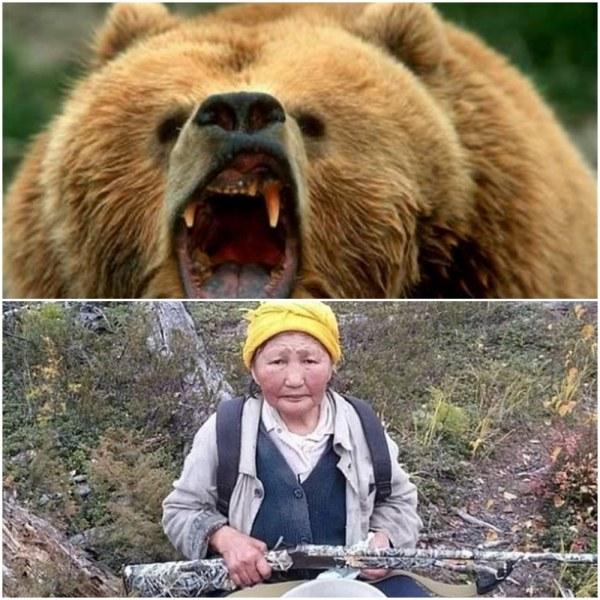 84-годишна баба изплаши мечка с... рева си