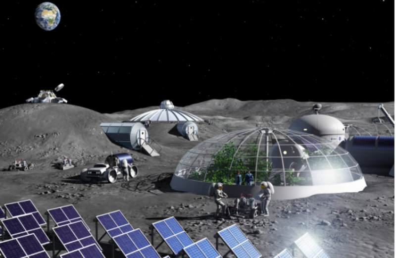 До 2035-а - завод на Луната, какво ли ще произвеждат японците?