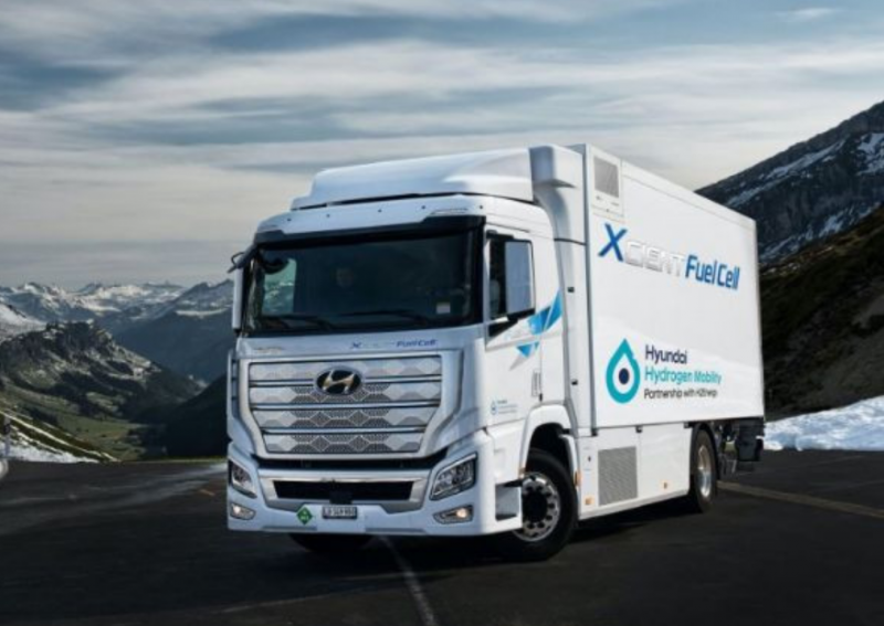 Създадоха първия камион на водород! СНИМКИ