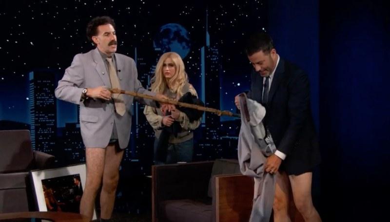 Долу гащите! Щерката на Борат – българка. Шоу в шоуто на Джими Кимъл ВИДЕО