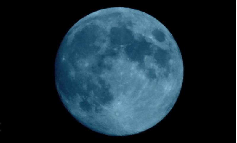 Синя Луна ще можем да наблюдаваме в деня на Вси светии