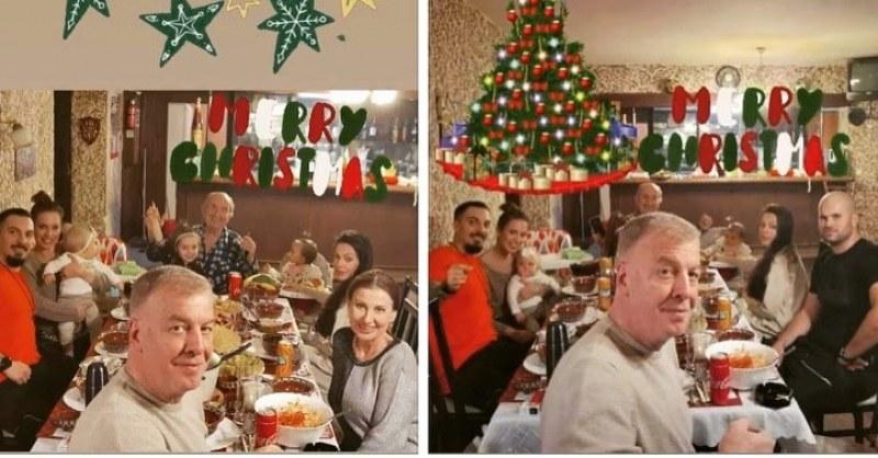 Илиана Раева и Наско Сираков събраха цялото семейство на празничната маса
