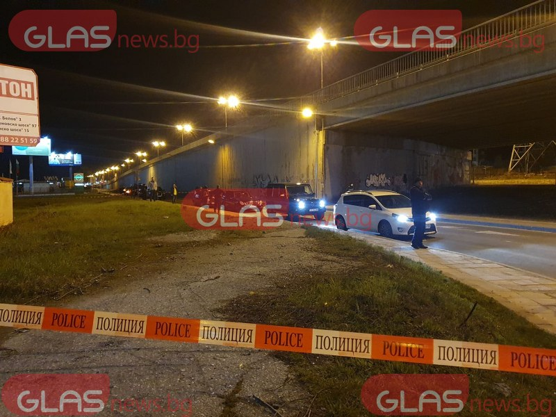 Стрелба в София! Мъж е застрелян в главата, гъмжи от полиция СНИМКИ