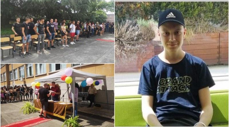 Зрелостници дариха пари на деветокласник, нуждаещ се от спешна операция СНИМКИ