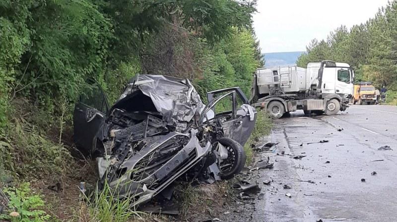 Тежка катастрофа на пътя Русе - Разград! Има загинали
