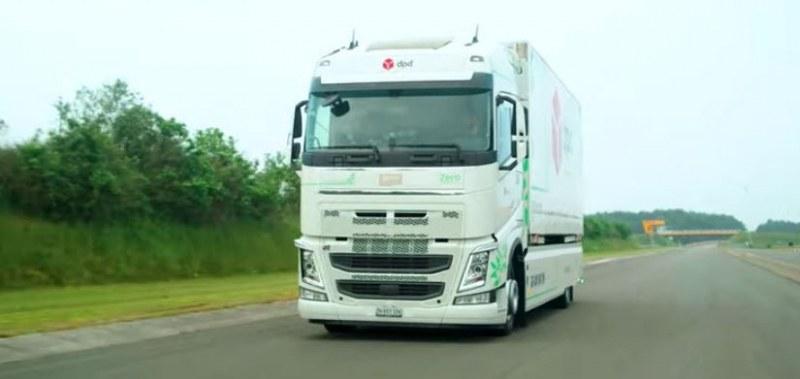 Е-камион постави рекорд за пробег с едно зареждане ВИДЕО