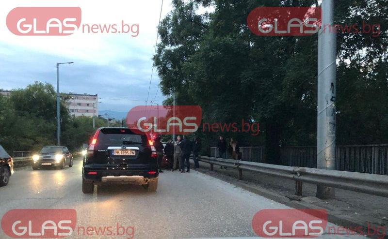 Зверска тапа в Пловдив заради катастрофа на Бетонния мост СНИМКИ