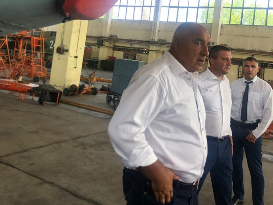 Борисов: Осигурихме 82,510 млн. лв. на МО за самолетите