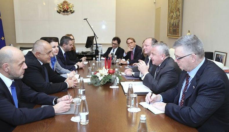 Премиерът Бойко Борисов се срещна със заместник-държавния секретар на САЩ Джон Съливан (СНИМКА)