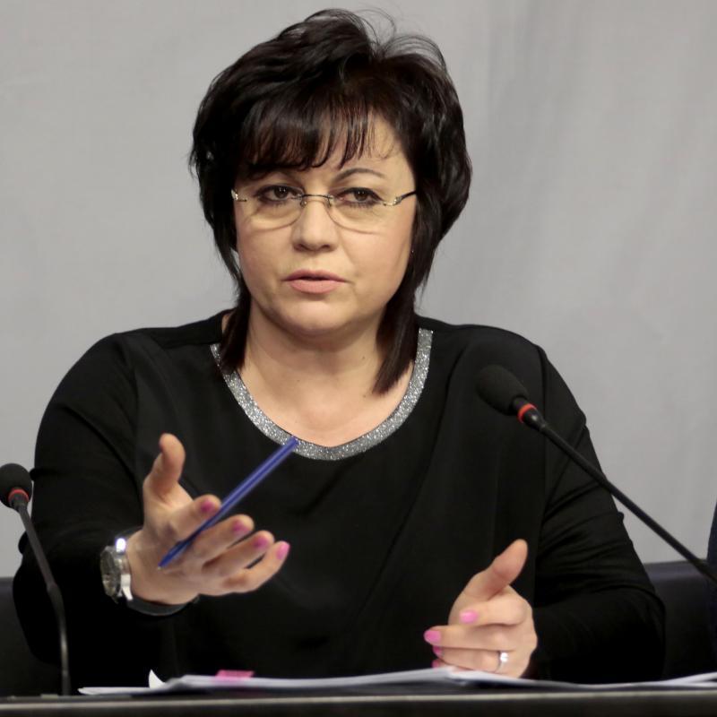 Европейски избори 2019: Корнелия Нинова, БСП: ГЕРБ не предвижда средствата от летище