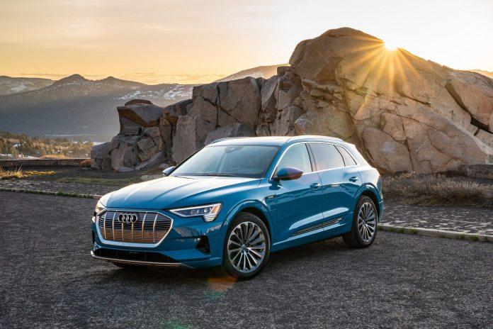 Audi иззема електромобилите Audi e-tron поради риск от късо съединение и запалване на акумулаторния блок