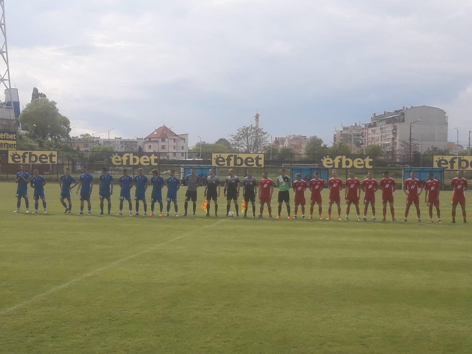 Равенство във вечното дерби в Елитната U19