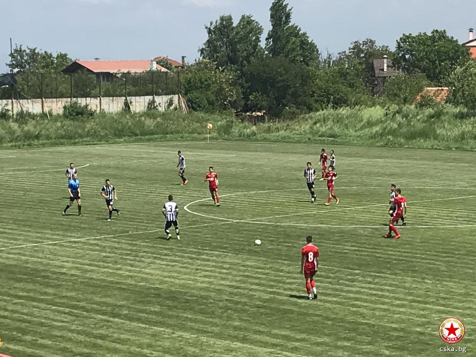 ЦСКА надделя над Локо в Панчарево