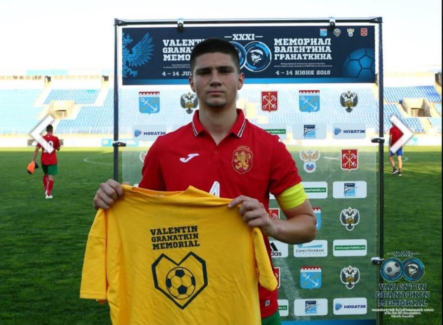 Юноша на ЦСКА-София от Пловдив пак стана най-добър играч за България, за втори път грабна жълтата фланелка