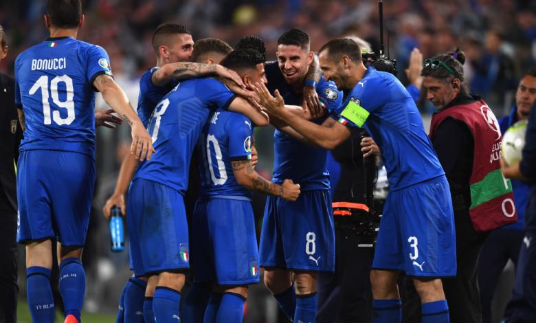 Италия гази наред към Евро 2020, продължава без грешка