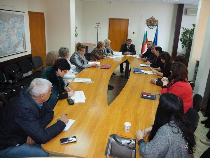 Проведе се заседание на Областния съвет за интеграция на хората с увреждания