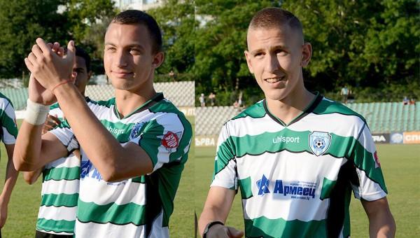 Двама юноши на Черно море ще играят във Втора лига