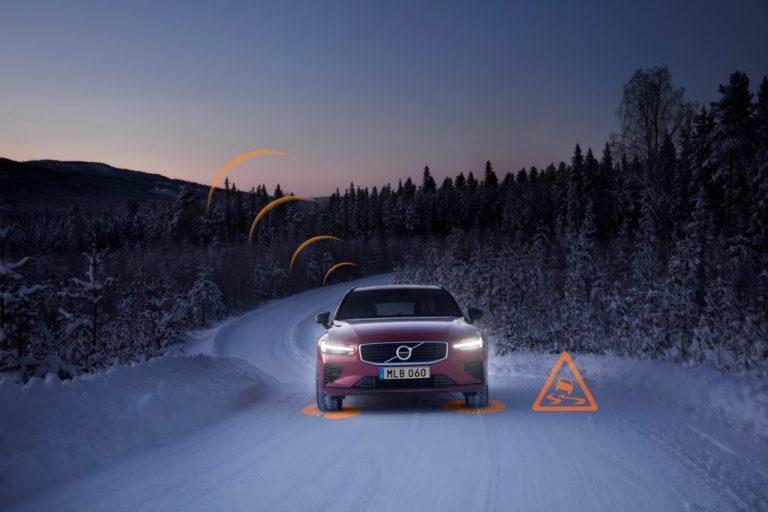 Колите на Volvo ще си комуникират