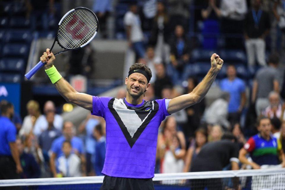 Уникална победа на Гришо! Би Федерер и е на полуфинал на US Open