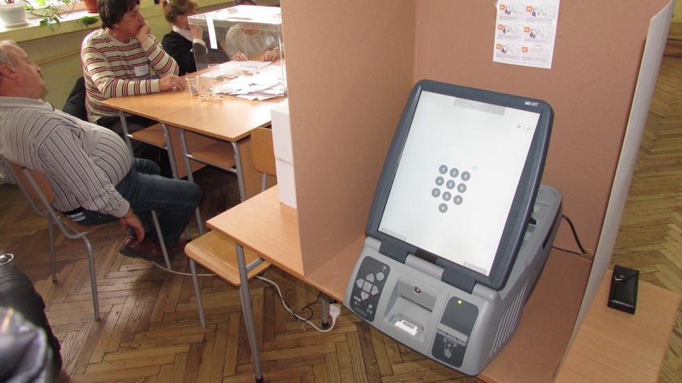 Представят машините за електронно гласуване на евровота
