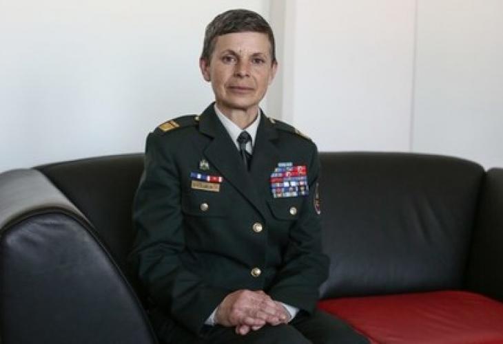 Армията на държава-членка на НАТО за първи път се оглавява от жена