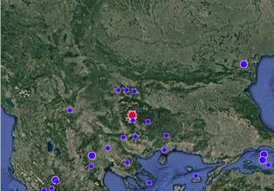 Земетресение край Разлог тази сутрин