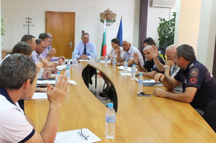 Проведе се заседание на Областната комисия по безопасност на движението