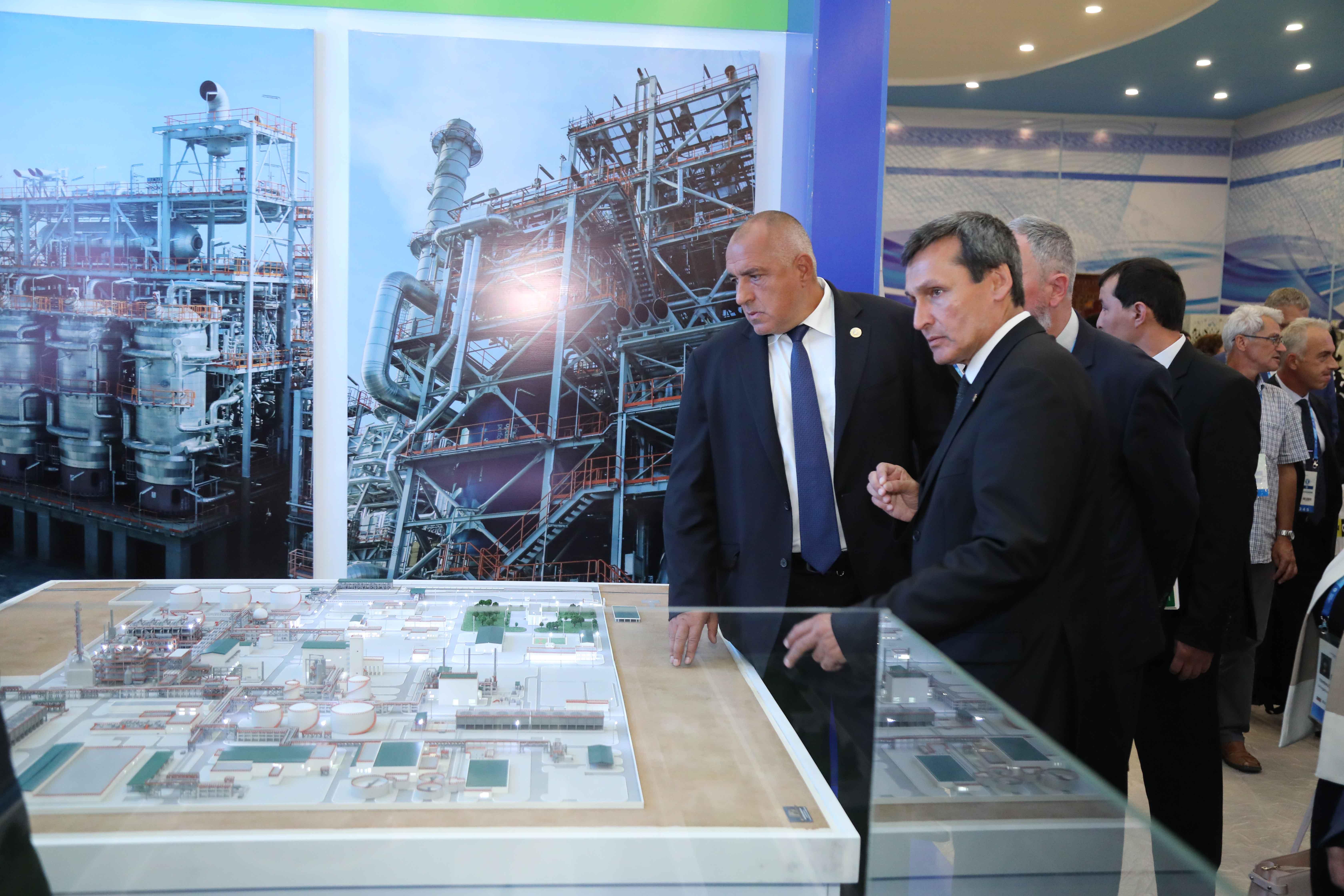 Борисов: Търсим начин газ от Туркменистан да захрани хъб