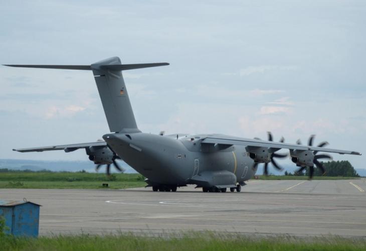 Самолет на НАТО се приземи извънредно на летище Кемерово в Русия (СНИМКИ)