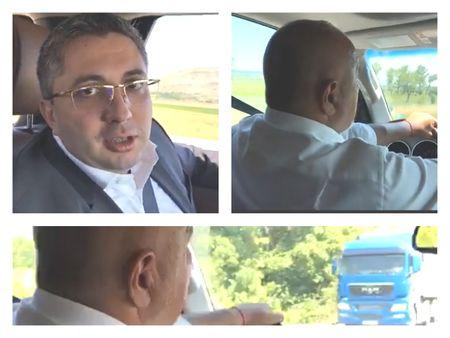 Борисов реве на Нанков в джипа: Вкарвайте тол-системата, искам да вдигам доходите с 10%!