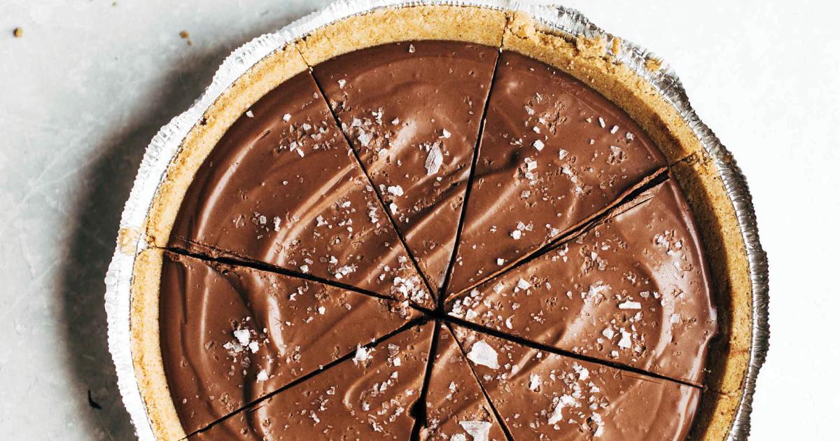 Изкушаващо: Шоколадов веган пай