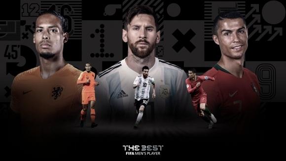 ФИФА посочи тримата най-добри