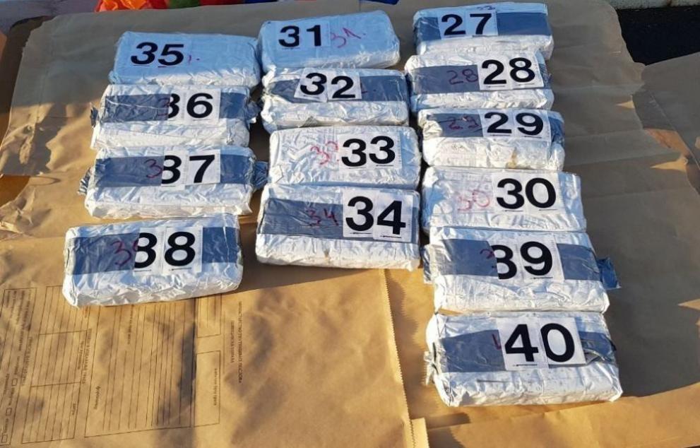 Заловиха хероин за 120 млн. паунда на Острова!