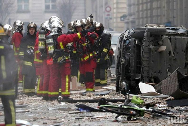 Броят на ранените при взрива в Париж расте: Над 20 са, няколко в тежко състояние