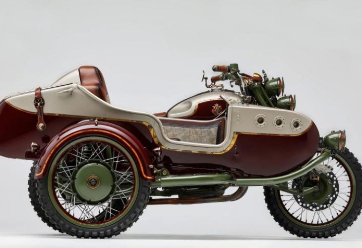 Уникален тунинг в САЩ превърна мотоциклет Урал в истинско произведение на изкуството в САЩ (СНИМКИ)